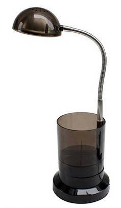 Светодиодная настольная лампа Horoz (HL010L) 3W черная Код.56671, фото 2