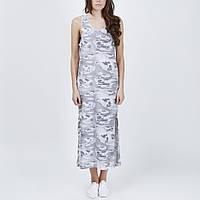 Платье летнее серое Drei от JUNKYARD XX-XY в размере M