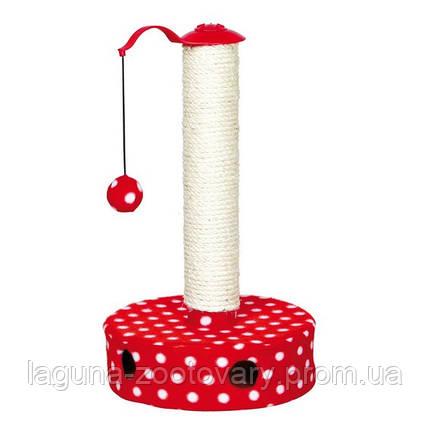 *Когтеточилка - столбик с игрушкой для кота  45cм, фото 2
