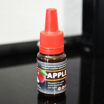 """Жидкость для электронной сигареты """"Яблоко"""" 12мг/мл"""