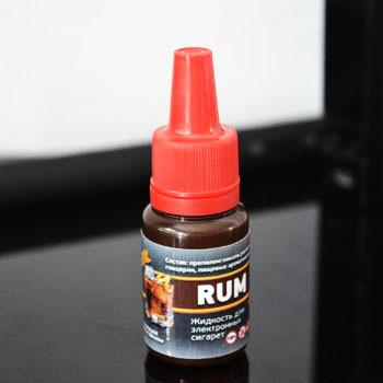 """Жидкость для электронной сигареты """"Ром"""" 12мг/мл"""