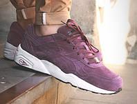 Женские кроссовки Puma Trinomic фиолетовые , фото 1