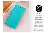 Чехол-книжка Mofi для телефона Asus Zenfone 5 голубой blue