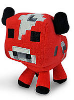 Мягкие игрушки Minecraft - Красная корова (Мууухомор)