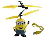 Літаюча іграшка Flying Minion (міньйон) на пульті радіоуправління, фото 2