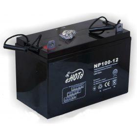 Аккумулятор ENOT 12в для ИБП 100AH(NP100-12)