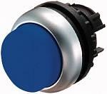 Eaton : Головка кнопки выступающая с фиксацией, с подсветкой, цвет синий M22-DRLH-B (Артикул: 216802)