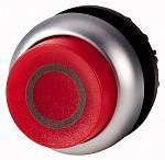 Eaton : Головка кнопки выступающая с фиксацией, с подсветкой, цвет красный M22-DRLH-R-X0 (Артикул: 216804)