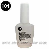 Jerden - Лак для ногтей №101 Быстросохнущий лак (Сушка для ногтей) Fast Finish Top Coat 16мл