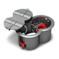 Напольный лючок Ultra на 2 механизма Unica, ETK44104