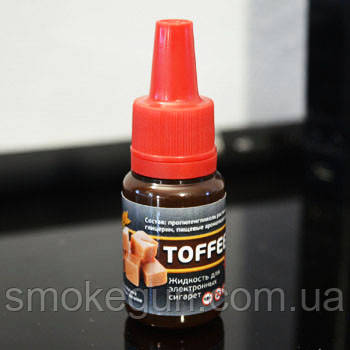 """Жидкость для электронной сигареты """"Тоффи"""" 12мг/мл"""