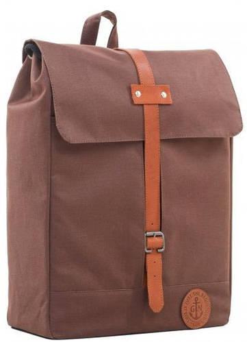 Эргономичный городской рюкзак с отделением для ноутбука, 14 л. Gin Double G, коричневый