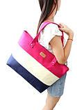 Женская сумка. Пляжная сумка Малина, фото 2