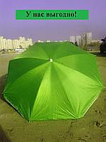 Пляжный зонт с наклоном 1,8м Anti-UF зеленый