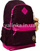 Рюкзак ортопедический Oxford 552925 черно-розовый