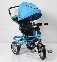 Детский трёхколёсный велосипед TR16010 Голубой