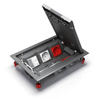 Напольный лючок Ultra на 6 механизмов Unica, ETK44112