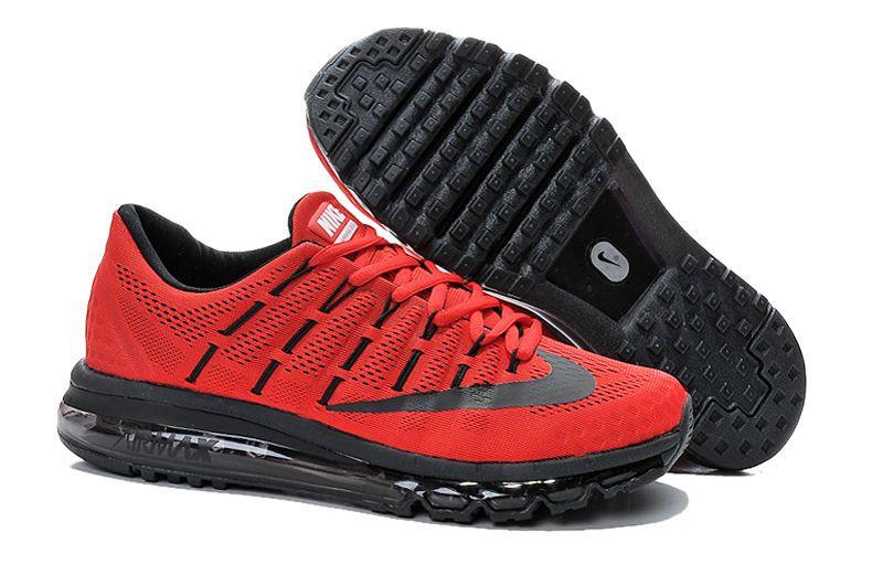 Кроссовки Nike Air Max 2016 Black Red