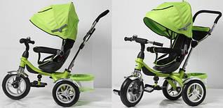 Детский трёхколёсный велосипед TR16012 Зеленый