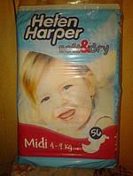 Подгузники Helen Harper Soft & Dry Midi 3 (4-9 кг) 56 шт.