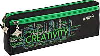 Пенал без наполнения (2 отд) KITE 2016 Creativity 647-4