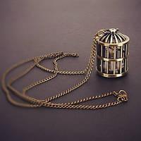 Часы модный подвеска кулон на цепочке мода 2013 птица