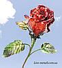 Роза кованая на подарок