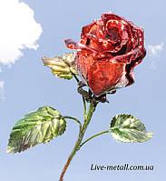 Роза кованая на подарок, фото 1