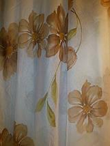 """Тюль французский кристалон """"Цветок"""", фото 2"""