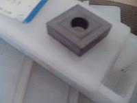 Пластина твердосплавная сменная (ромб) 05124-120404  (Р20) ГОСТ19059-80