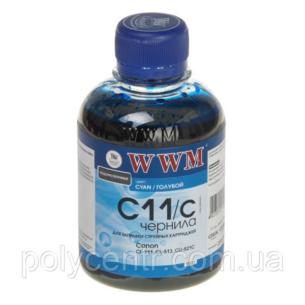 Чернила WWM для принтеров  Canon   C11/C (Cyan/голубой)