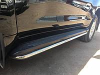 Toyota LC200 Защита бокового порога BB004