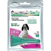 Фронтлайн Комбо Спот Он монопипетка для собак 20-40 кг, L