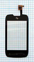 Тачскрин сенсорное стекло для Fly IQ431 Glory black