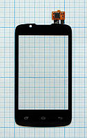Тачскрин сенсорное стекло для Fly IQ436 Era Nano 3 black