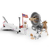 Игровой набор Na-Na Космический шатл со спутником и аксессуарами Планета путешествий (IM66B1)
