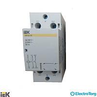 Контактор модульный КМ63-20 AC ИЭК (IEK)