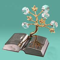 """Статуэтка """"Дерево и Библия"""" (позолота)"""
