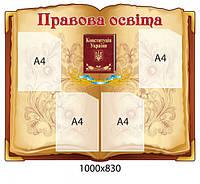 Стенд Правовое образование Конституция -3134