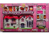 Игровой домик для кукол 8032 My Happy Family RI