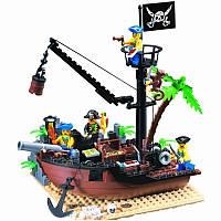 """Конструктор Brick 306 """"Пиратская шхуна"""", 178 деталей"""