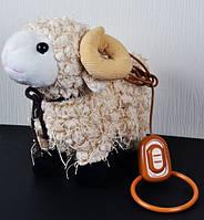 Механическая игрушка Овца на поводке