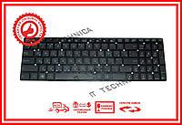 Клавиатура Asus K55 XI Series черная без рамки RU/US