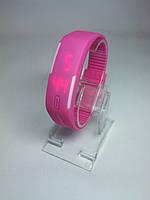 Наручные часы led с силиконовым браслетом (реплика)