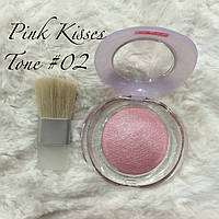 Запечённые румяна Pupa Тон N2, Pink Kisses