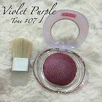 Запечённые румяна Pupa Тон N7, Violet Purple