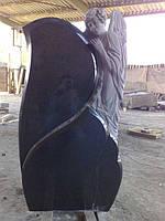 Памятник Житомир скульптуры ангелов. Памятник из гранита Ангелочек, фото 1