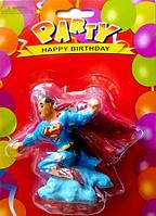 """Свечи для торта """"Superman"""""""