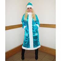 Взрослый костюм Снегурочка средней длины