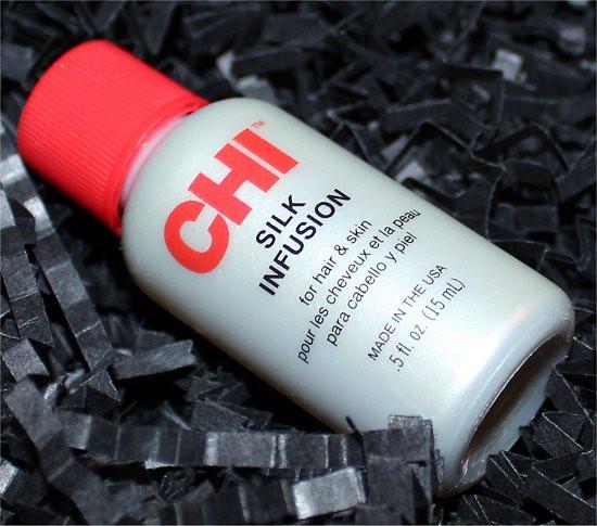 Спасение волос шелком CHI SILK infusion